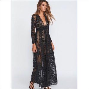 👗For Love & Lemons🍋Temecula Maxi Dress